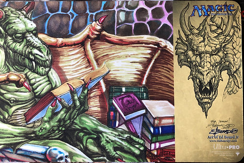 Nicol Bolas Playmat w/Shaded Art