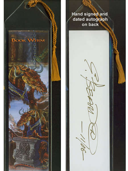 Book Wyrm Bookmark