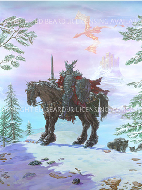 Nordic Warlord Giclee Gallery Wrap