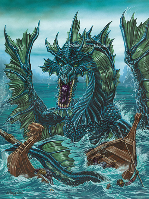 Sea Dragon, Progeny of Loki Artist Proof