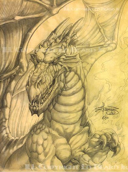 Fire Cave Dragon
