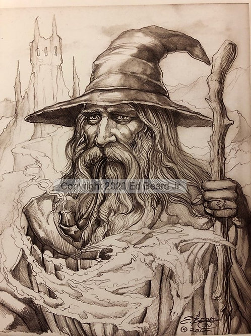 Wizard's Dragon Smoke