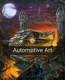 Automotive Art Posters and Prints