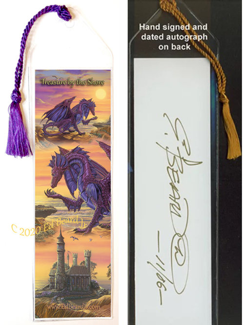 Treasure By The Shore Signed Bookmark