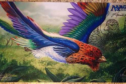 Birds of Paradise Playmat w/Line Art
