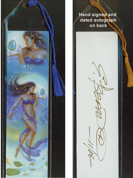 Air Elemental Fairy Bookmark
