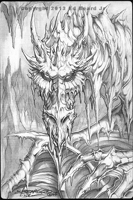 "Ice Dragon ""Gathering"""