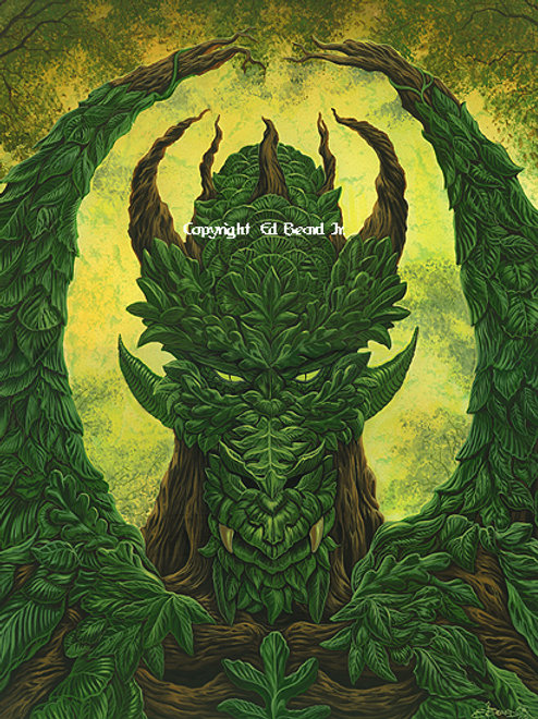 Greenman Dragon Artist Proof