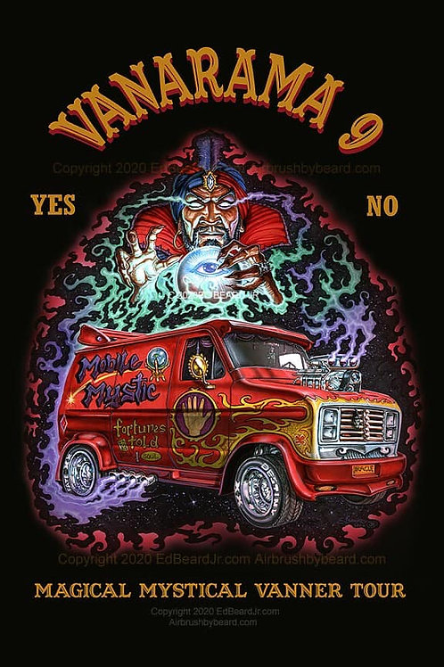Mobile Mystic Poster Print