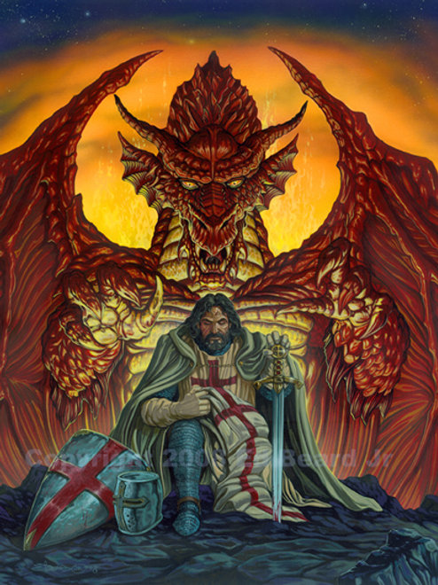 Templar's Bane Artist Proof