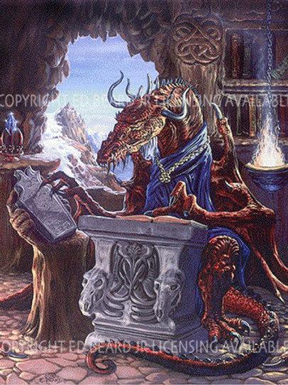 Ancient Dragon Scholar