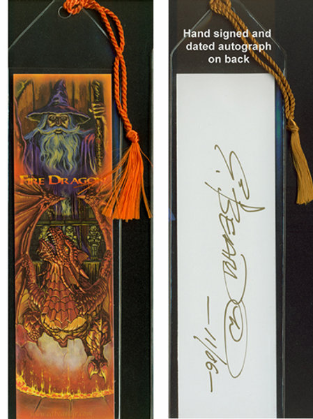 Fire Dragon Bookmark