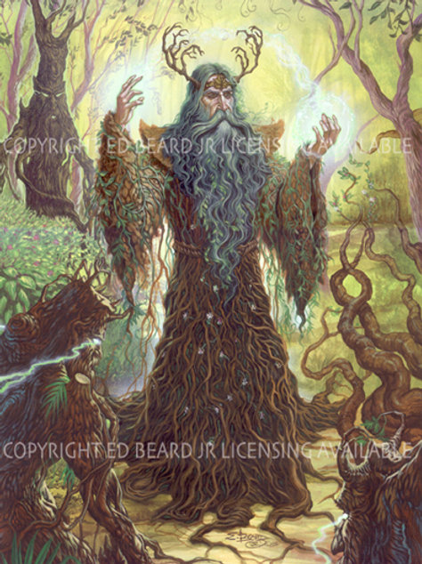 Forest Guardian Giclee Standard Stretch