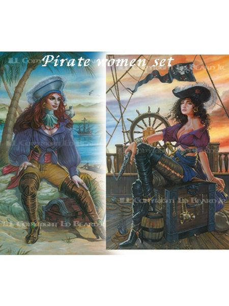 Pirate Women Set