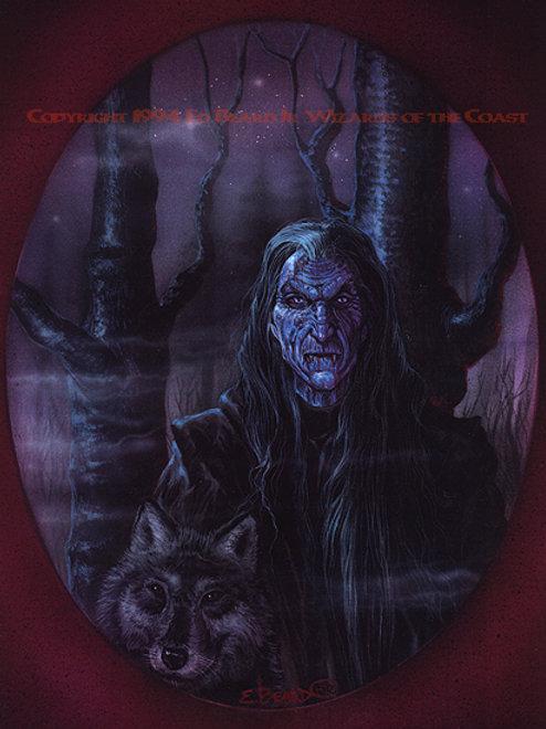 Vampire with Wolf Companion/ Roland Bishop