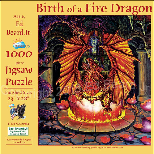 Birth of the Fire Dragon Puzzle