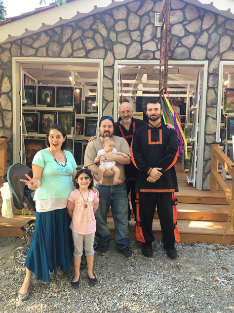 Ohio Renaissance Festival with Family of Collectors
