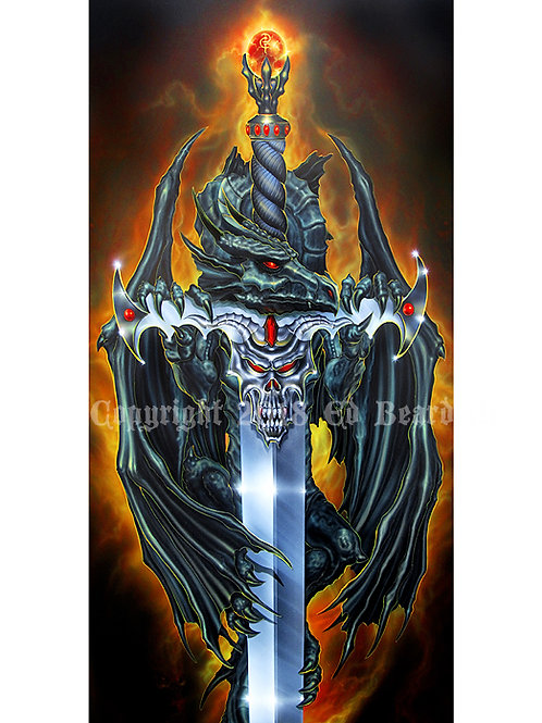 Dragon Forged Airbrush Art Series