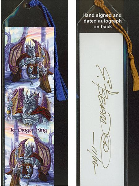 Ice Dragon King Bookmark