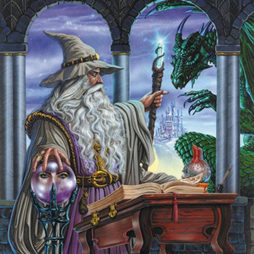 Wizard's Emissary Giclee Standard Stretch