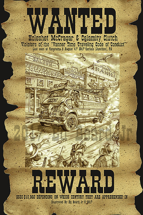 Wanted Poster Vanner Express