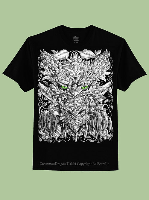 Greenman Dragon T-Shirt