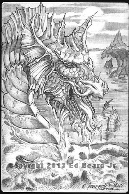 """Water Dragon """"Gathering"""""""