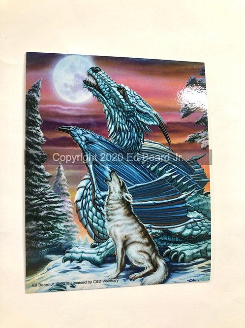 Moonsong Fantasy Art Heavy Duty Vinyl Sticker