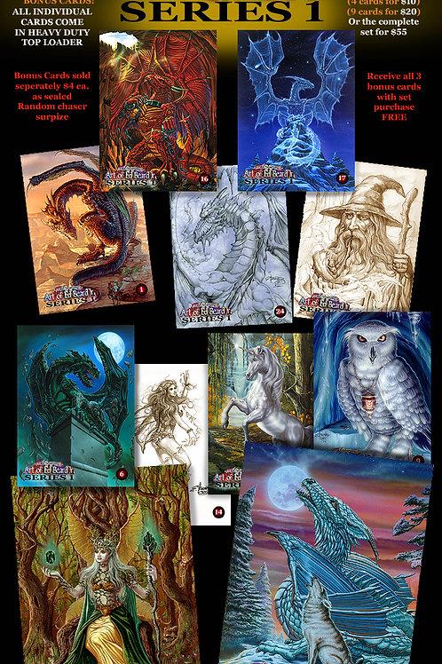 Series One Complete Set Plus 1 Random Mystery Card