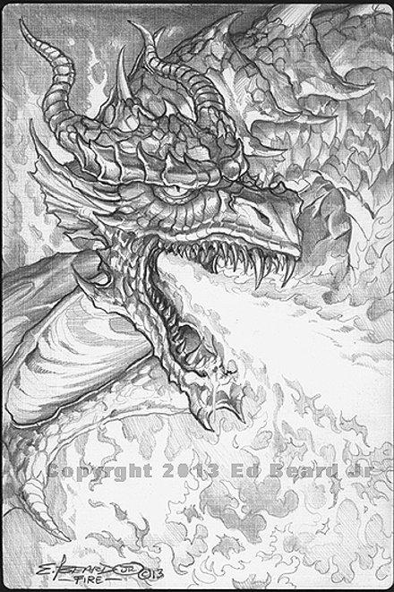 "Fire Dragon ""Gathering"""