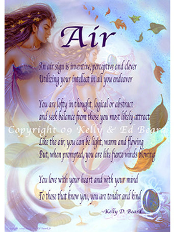 Air Fairy Elemental Zodiac Poem