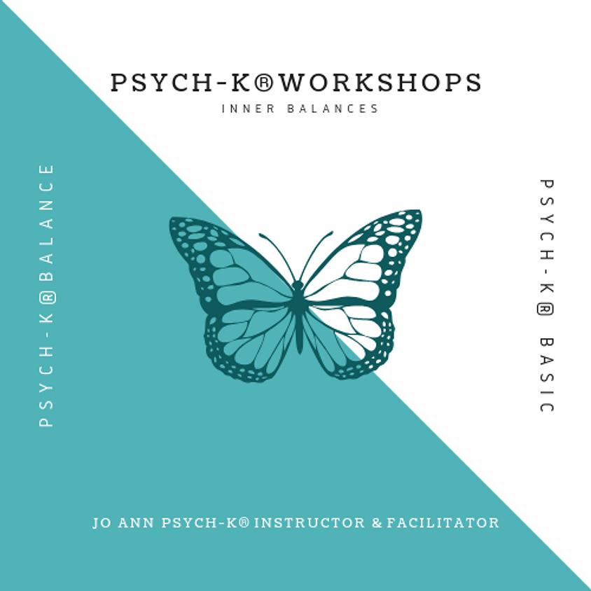 PSYCH-K® Basic : Seymour CT  Oct 8-10, 2021