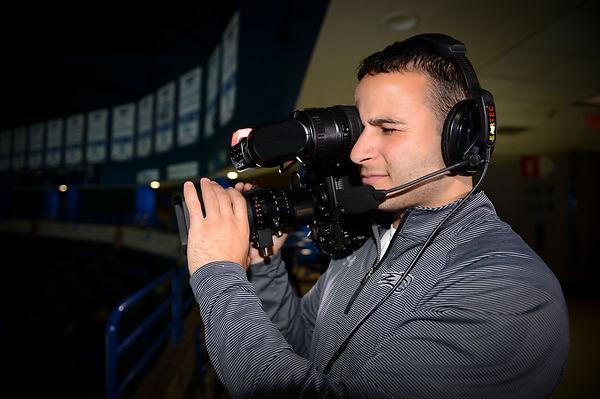 Sebouh Majarian Operating Camera