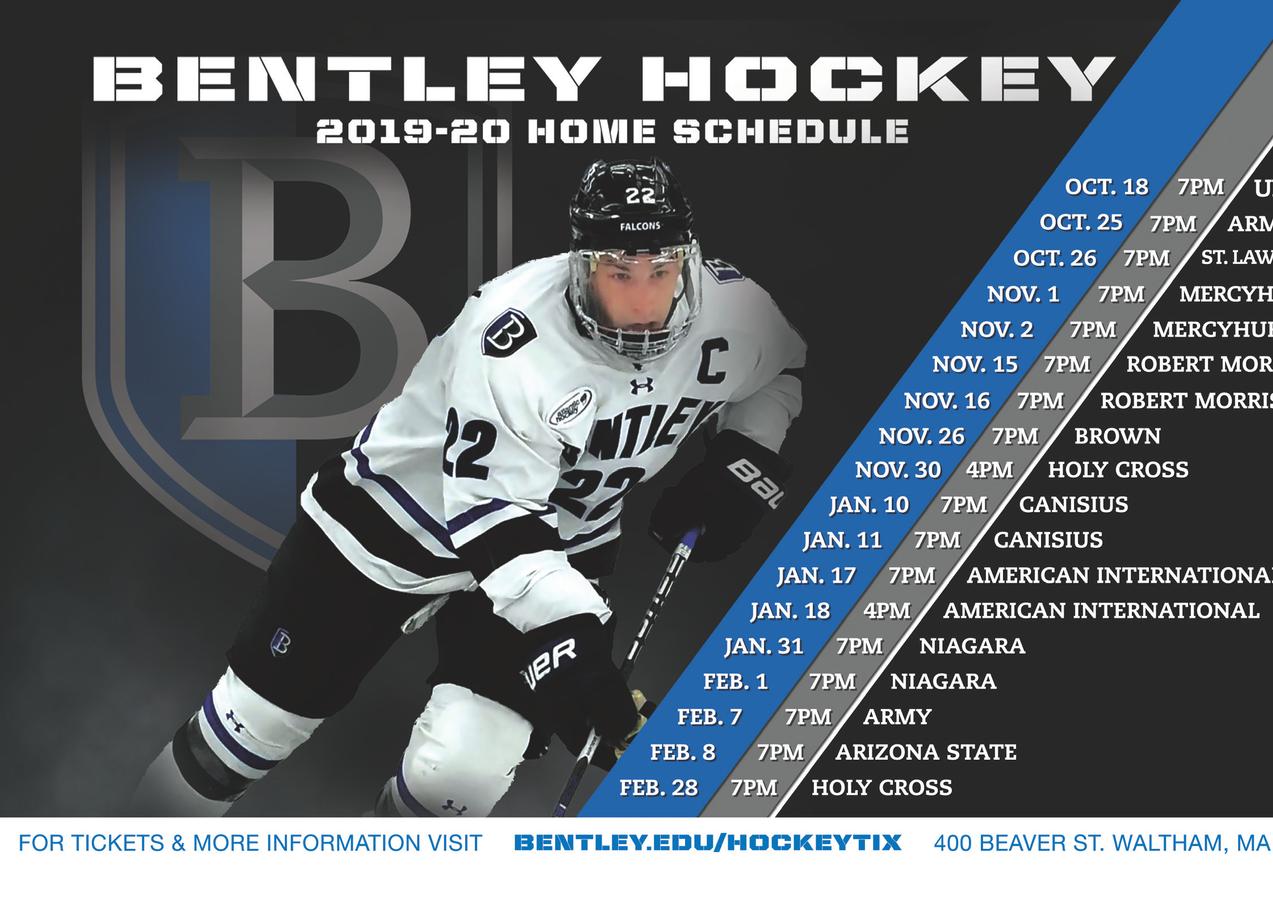 Bentley Hockey Schedule
