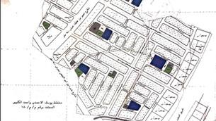 مخطط المناهل - Manhole scheme