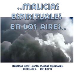 MALICIAS ESPIRITUALES
