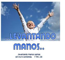 LEVANTANDO MANOS