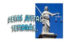 PESAS  JUSTAS TENDRAS 1