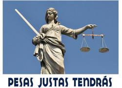 PESAS  JUSTAS TENDRAS 2