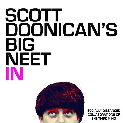 Scott Doonican's Big Neet In 3 - Socially Distanced Collaborations - 2-CD ALBUM