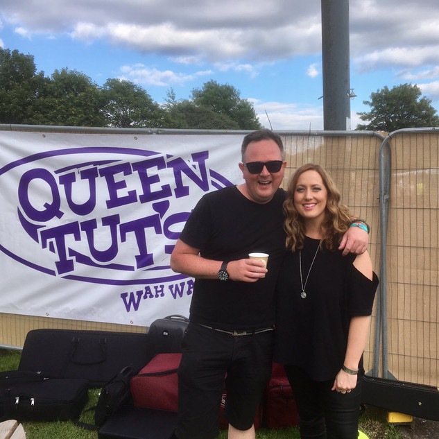 TRNSMT Festival - with Keith Easton backstage