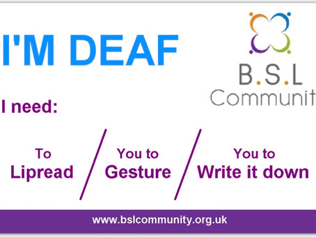 Deaf ID cards
