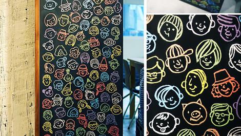 RAINBOW / Chalk Art