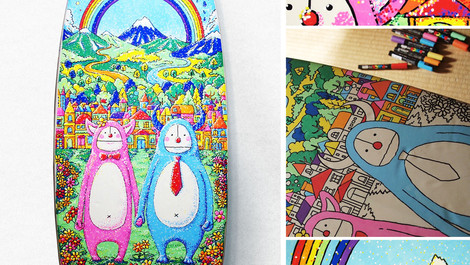 RAINBOW / Surf Art