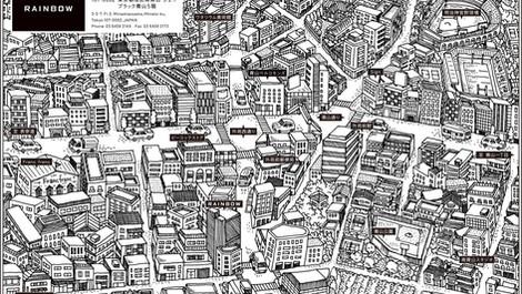 外苑前の地図
