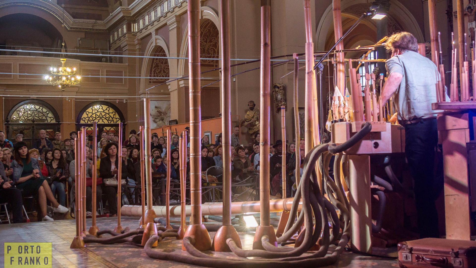 Bambuso Sonoro for Porto Franko, Maria C