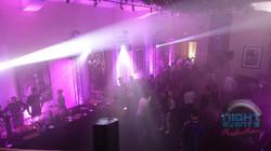 Éclairage dance floor