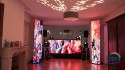 Mur de LED (Colonnes)