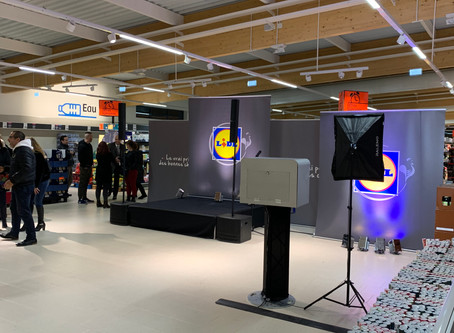 Inauguration Magasin LIDL Osny(95)
