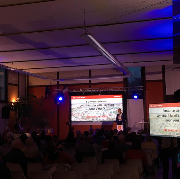 Conférence mairie multi écran